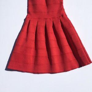 WOW couture Dresses - Wow Couture Red Strapless Bandage Dress